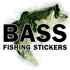 Bass Fishing Stickers