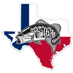 Texas Smallmouth Bass Decal