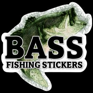 Bass Fishing Stickers Free Sticker